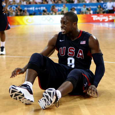 Dwyane Wade in the 2008 Olympics